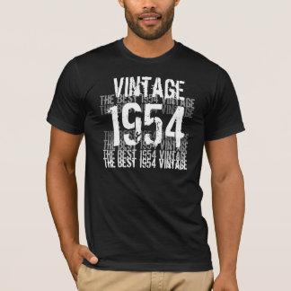 Año de 1954 cumpleaños - el mejor vintage 1954 playera