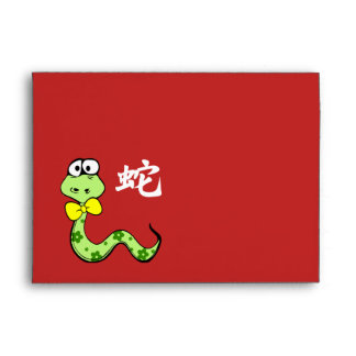 Año de 2013 chinos de los sobres del rojo de la se