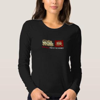 Año de 2016 chinos de las camisetas del mono playera