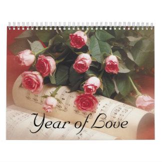 Año de amor calendario