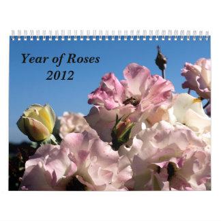 Año de calendario de los rosas