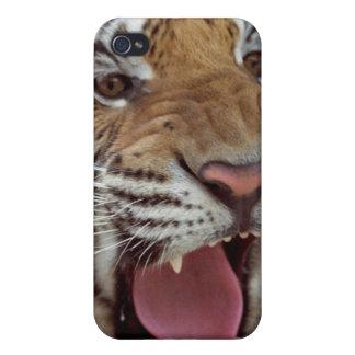 Año de caso del iPhone del tigre iPhone 4 Funda