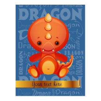 Año de encargo del dibujo animado del arte de la tarjetas postales