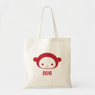 Año de la bolsa de asas 2016 del mono