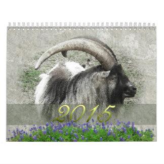 Año de la cabra 2015 calendario