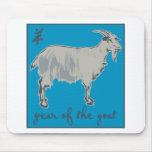 Año de la cabra alfombrillas de raton