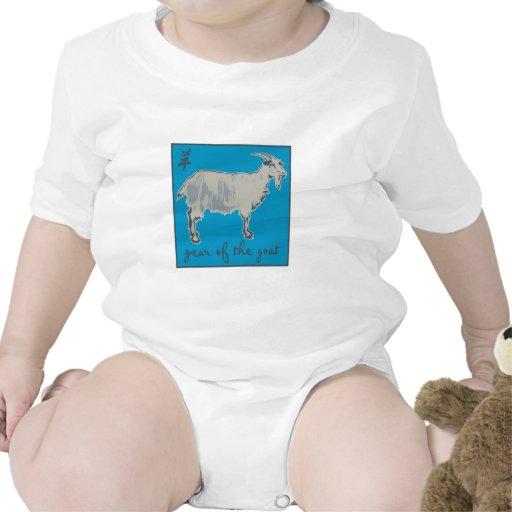 Año de la cabra traje de bebé