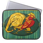 Año de la caja del ordenador portátil del gallo