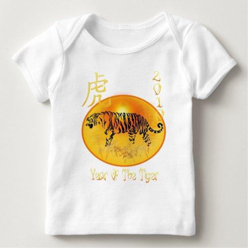 Año de la camisa 2010 del tigre