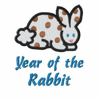 Año de la camisa bordada conejo