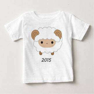 Año de la camisa de los niños de las ovejas 2015