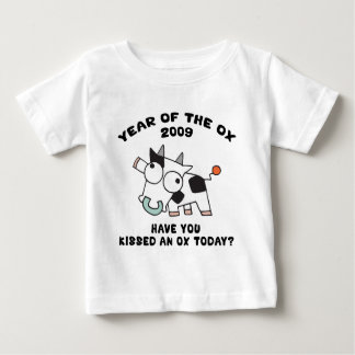 Año de la camiseta 2009 del buey