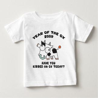 Año de la camiseta 2009 del buey playeras