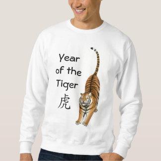 Año de la camiseta china del zodiaco del tigre