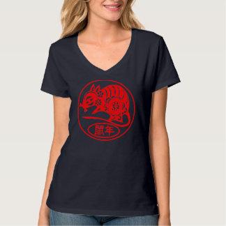 Año de la camiseta de la rata camisas