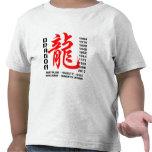 Año de la camiseta de las características del drag