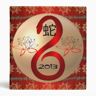 Año de la carpeta 2013 del álbum de la serpiente
