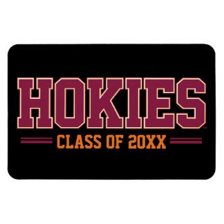 Año de la clase de Hokies Iman Rectangular