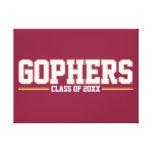 Año de la clase de los Gopher