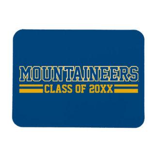 Año de la clase de los montañeses - azul