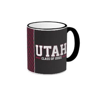 Año de la clase de Utah Taza De Dos Colores