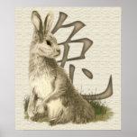 Año de la impresión del poster del conejo