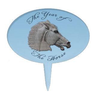 Año de la mitología griega del caballo figura de tarta