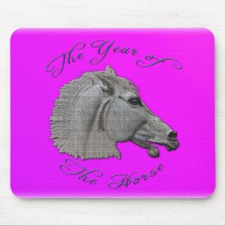 Año de la mitología griega del caballo alfombrilla de raton