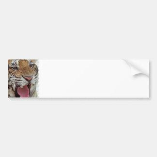 Año de la pegatina para el parachoques del tigre pegatina para auto