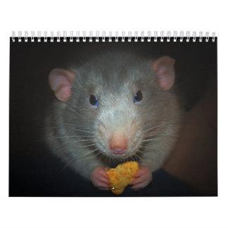 Año de la rata Calander Calendarios De Pared