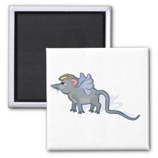 Año de la rata divinamente imanes de nevera
