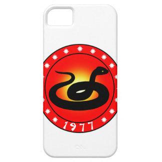 Año de la serpiente 1977 iPhone 5 Case-Mate cárcasas