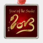 Año de la serpiente 2013 - Año Nuevo chino Adorno De Reyes