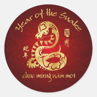 Año de la serpiente 2013 - Año Nuevo vietnamita - Pegatinas