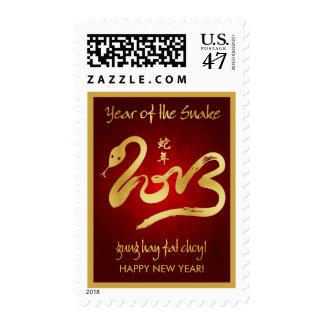 Año de la serpiente 2013 sellos postales