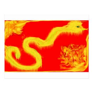 Año de la serpiente 2013 tarjetas postales