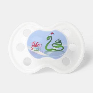 Año de la serpiente del navidad 2013 chupetes para bebes