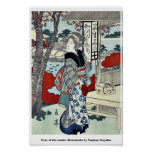 Año de la serpiente: Ikenohada por Yajima, Gogaku Posters
