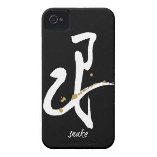 Año de la serpiente - zodiaco chino iPhone 4 Case-Mate protectores