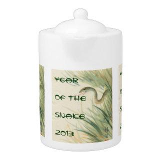 Año de la tetera de la serpiente