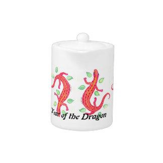 Año de la tetera del lagarto de dragón del dragón