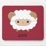 Año de las ovejas Mousepad 2015