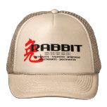 Año de los años del conejo - características gorros bordados