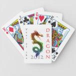 Año de los naipes del dragón 2012 barajas