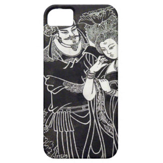 Año de Nes del chino, par chino de la silueta Funda Para iPhone SE/5/5s