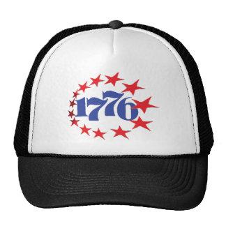 AÑO DE NUESTRA INDEPENDENCIA 1776 GORROS BORDADOS