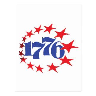 AÑO DE NUESTRA INDEPENDENCIA 1776 TARJETAS POSTALES