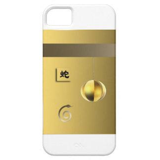 Año de oro amarillo de la linterna del theSnake iPhone 5 Case-Mate Protector