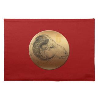 Año de oro del espolón - astrología china mantel