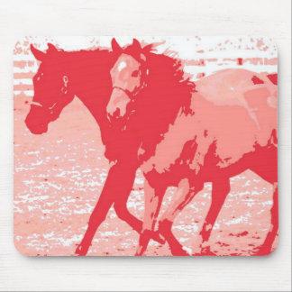 Año del Año Nuevo chino del caballo Tapete De Raton